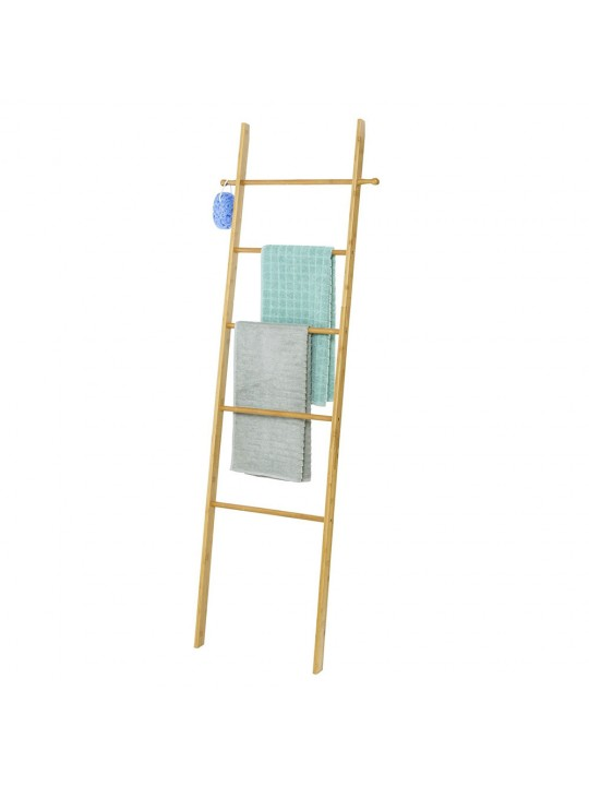 Κρεμάστρα σκάλα Bahari bamboo για πετσέτες ή ρούχα