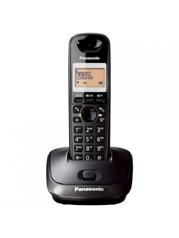 Ασύρματο Ψηφιακό Τηλέφωνο Panasonic KX-TG2511GRT Μαύρο
