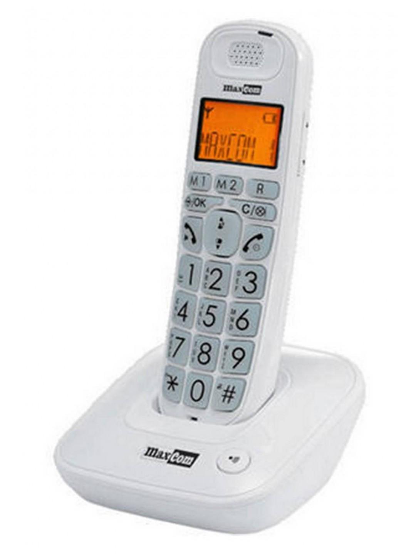 Ασύρματο Ψηφιακό Τηλέφωνο Maxcom MC6800 Λευκό