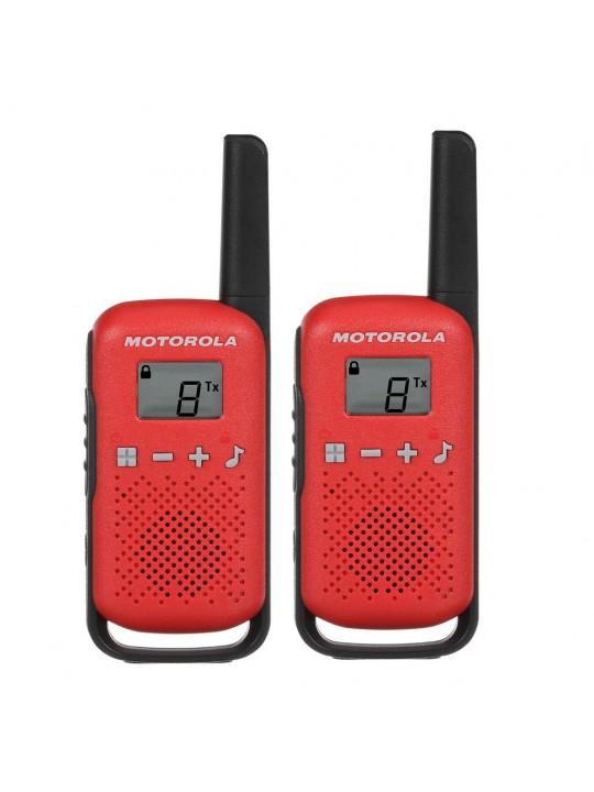Walkie Talkie Motorola Go Live PMR T42 Κόκκινο. Εύρος Κάλυψης 4 km