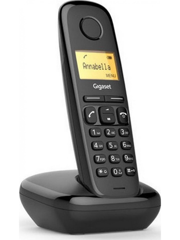 Ασύρματο Ψηφιακό Τηλέφωνο Gigaset A170 Μαύρο S30852-H2802-T101