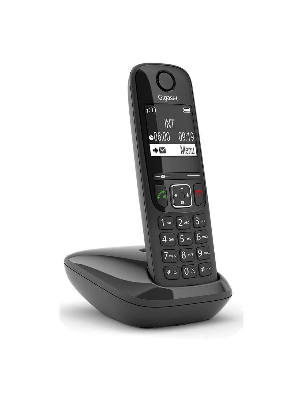 Ασύρματο Ψηφιακό Τηλέφωνο Gigaset AS690 S30852-H2816-R601 (EU) Μαύρο EU