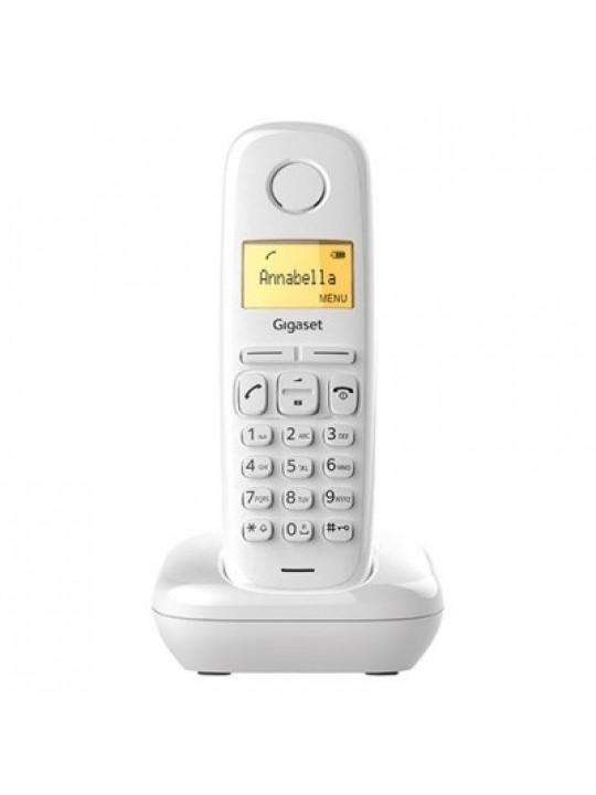 Ασύρματο Ψηφιακό Τηλέφωνο Gigaset A270 Λευκό S30852-H2812-K102
