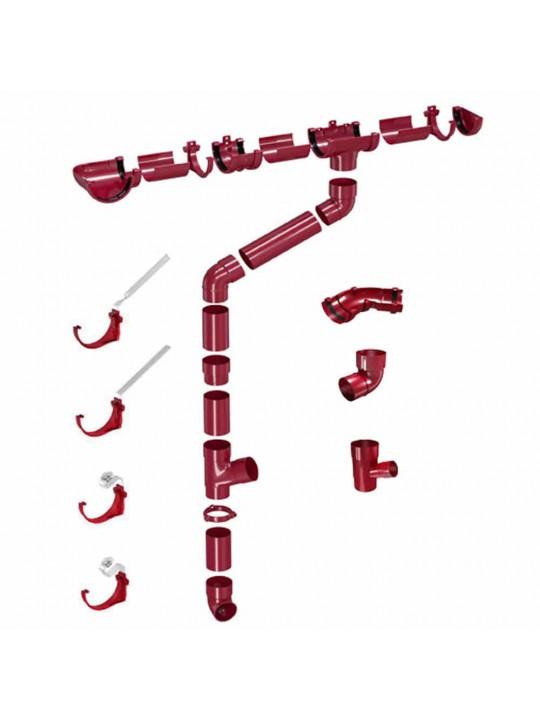 Στήριγμα ανοιχτής υδρορροής PVC CLASSIC 120 DEVOREX